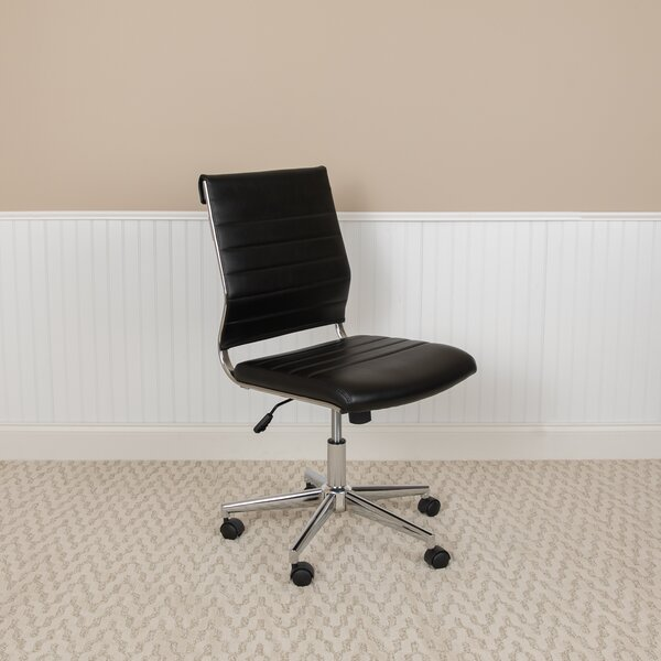 Flavius Mid-Back Ribbed Task Chair