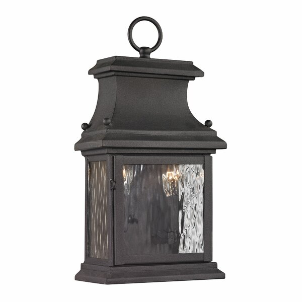 Maxen 2-Light Outdoor Wall Lantern by Alcott Hill