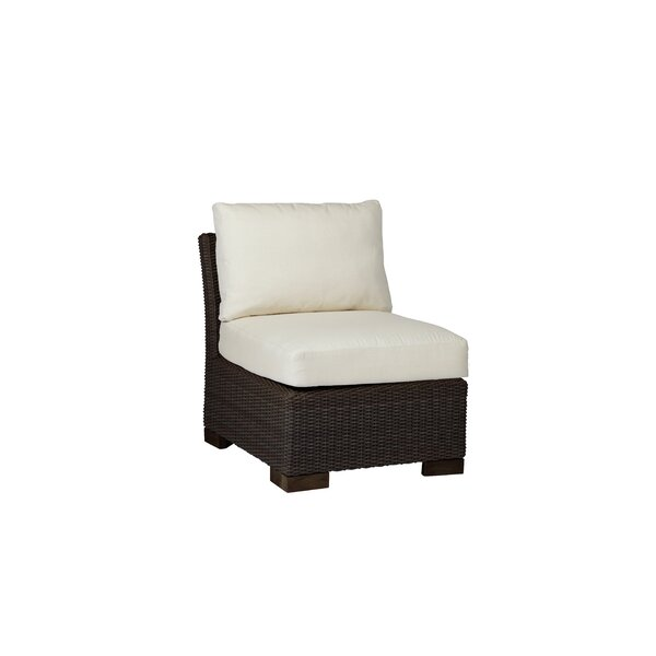 Club Woven Slipper Patio Chair with Cushion by Summer Classics