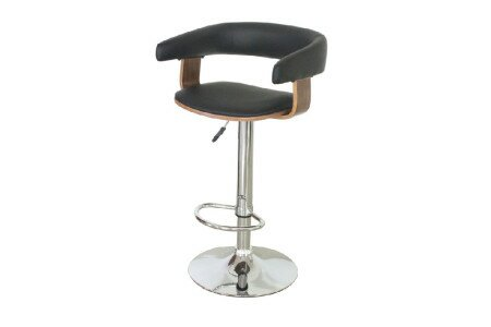 Vivian Adjustable Height Swivel Bar Stool by Langley Street