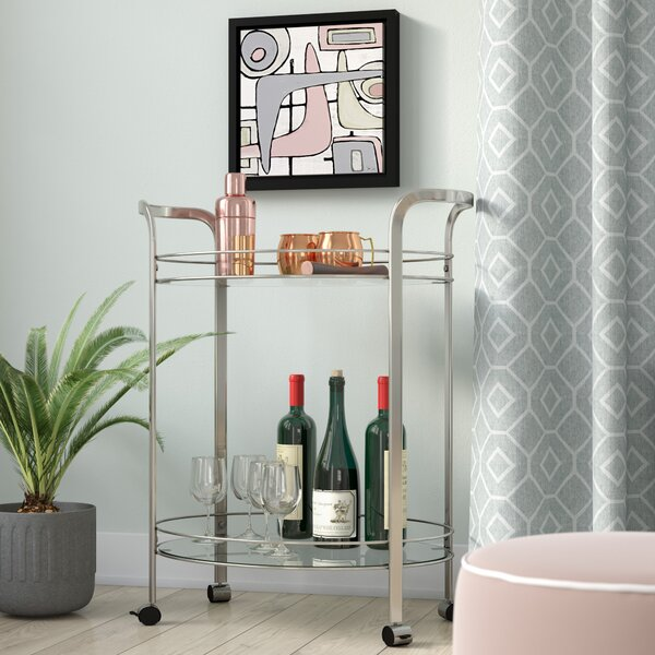 Sharkey Bar Cart by Wrought Studio Wrought Studio