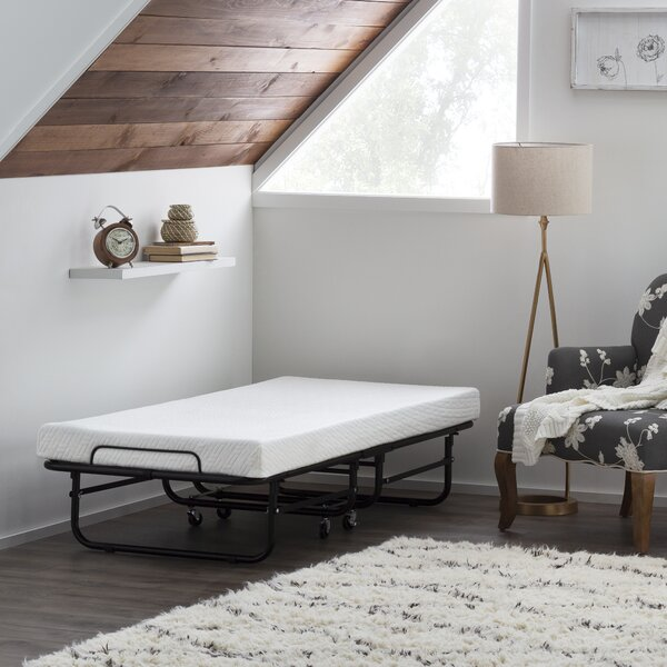Cot Metal Daybed With Mattress By White Noise