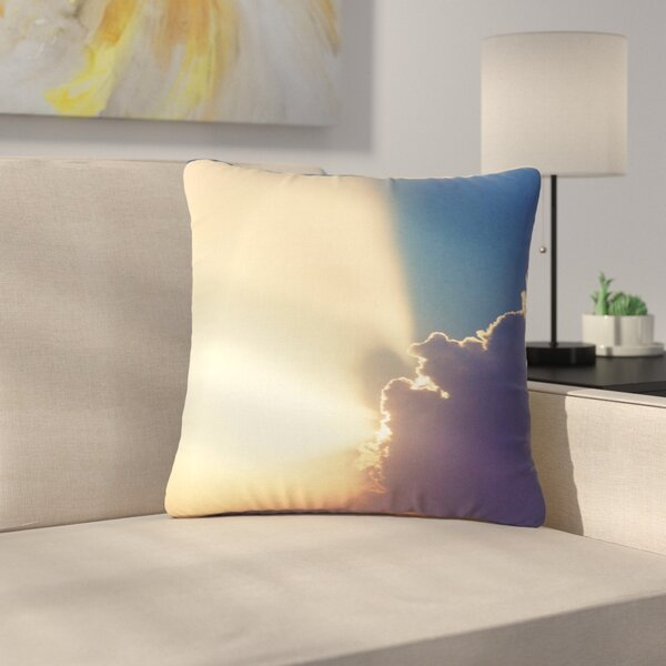 Cvetelina Todorova After the Storm Outdoor Throw Pillow by East Urban Home