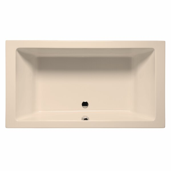 Naples 72 x 36 Soaking Bathtub by Malibu Home Inc.