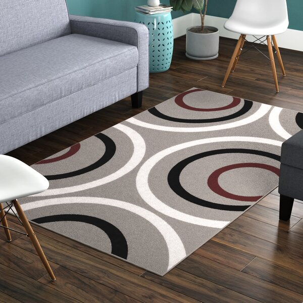 Carmella Gray Area Rug by Zipcode Design