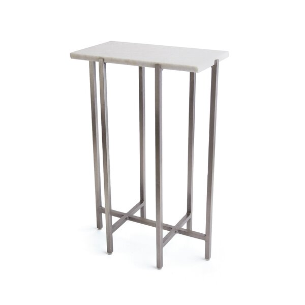Anya Trestle End Table By Orren Ellis