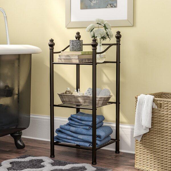 Gracia 13 W x 30 H x 13 D Free-Standing Bathroom Shelves