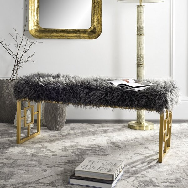 Ascot Place Upholstered Bench by Willa Arlo Interiors