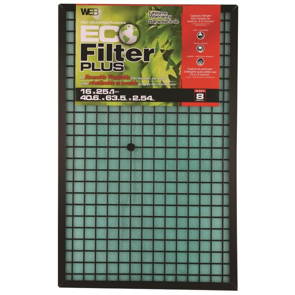 Plus Permanent Electrostatic Air Filter by WEB Products