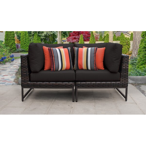 Mcclurg Patio Chair with Cushions (Set of 2) by Darby Home Co Darby Home Co