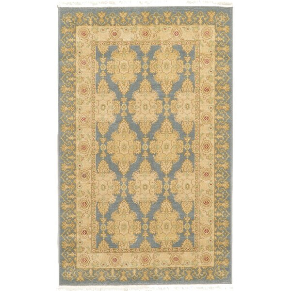 Britley Blue Area Rug by World Menagerie