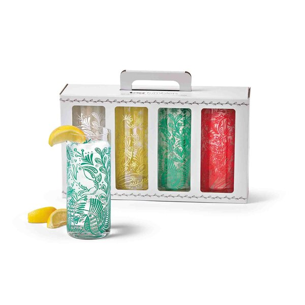 Tropical Tumblers (Set of 4) by TAG