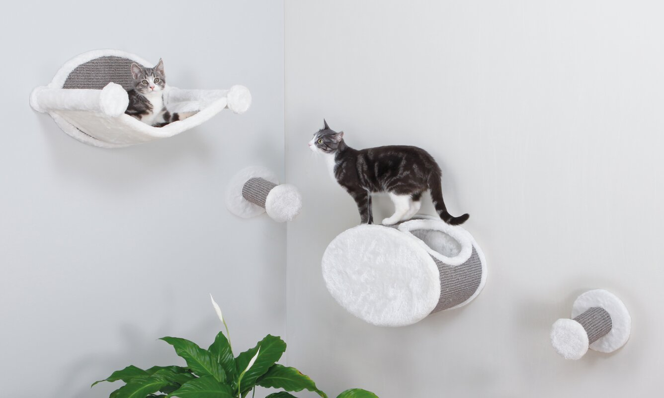 Wall-Mounted Cat Lounging Set