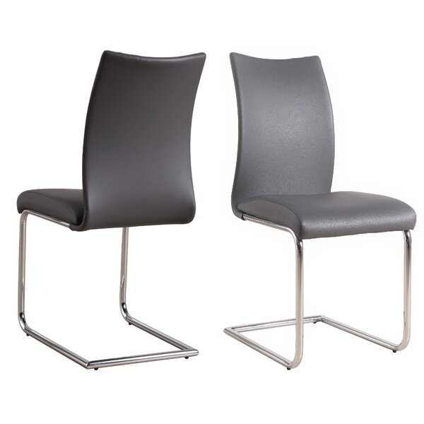 Finney Upholstered Dining Chair (Set of 2) by Orren Ellis