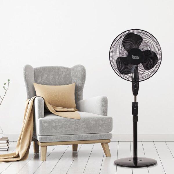 "Stand 16"" Oscillating Floor Fan by Black + Decker"