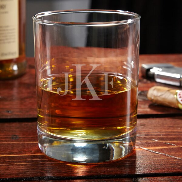 Eastham Personalized 10 oz. Whiskey Glass by Home Wet Bar