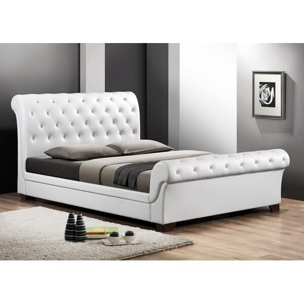 Leighlin Queen Upholstered Sleigh Bed by Wholesale Interiors