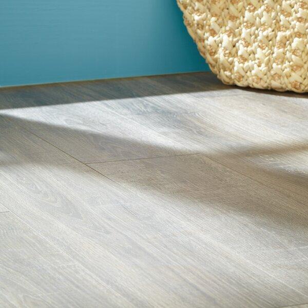 Rugged Vision 7.5 x 54.34 x 11.93mm Oak Laminate Flooring in Brown by Mohawk Flooring