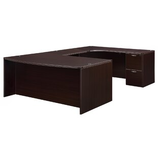 Read Reviews Fairplex Corner Credenza U-Shape Executive Desk By Flexsteel Contract