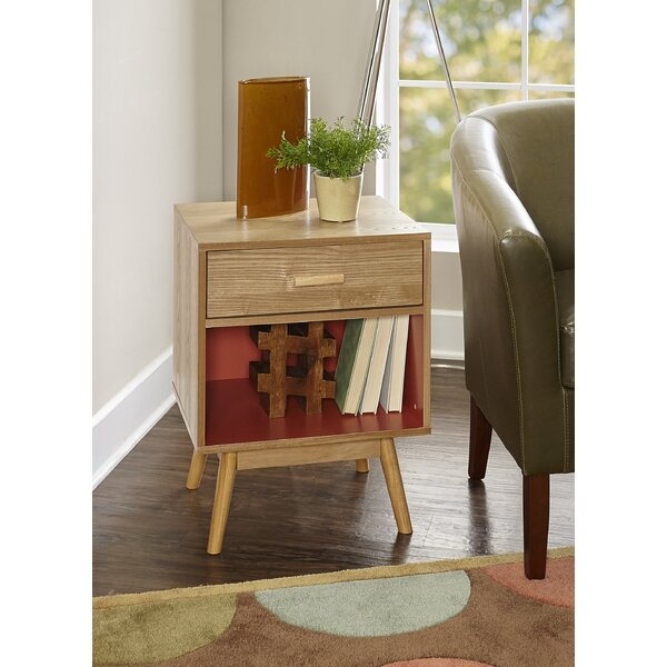 Topsham End Table by Wrought Studio