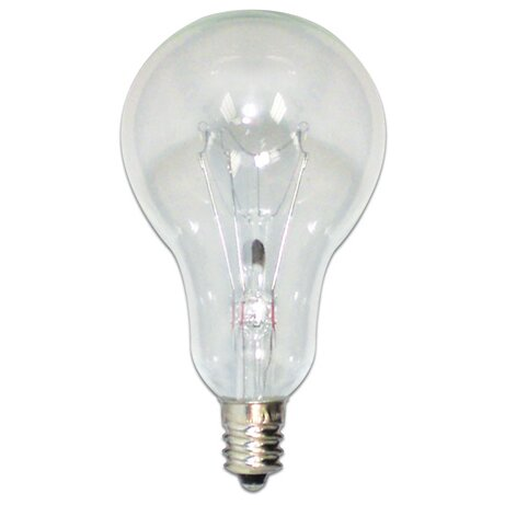 Candelabra 60W 130-Volt (2700K) Incandescent Light Bulb (Set of 31) by Bulbrite Industries