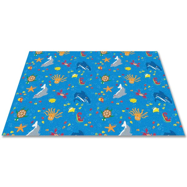 Ocean Friends Area Rug by Kid Carpet