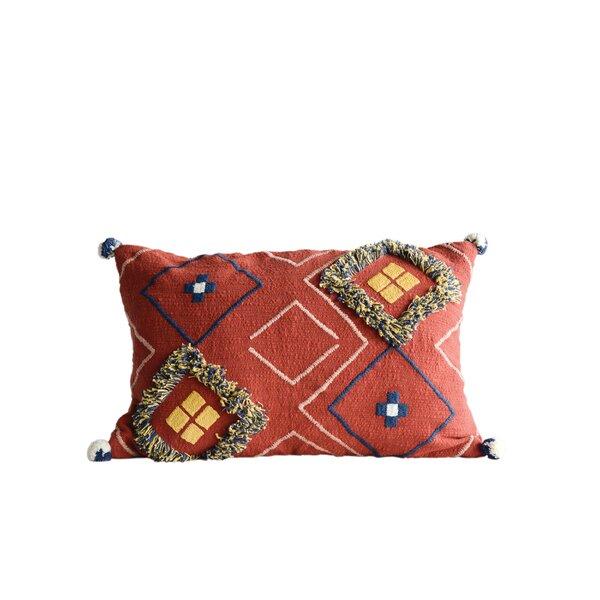 Eiler Cotton Lumber Pillow by Bungalow Rose