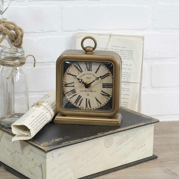 Table Clock by Williston Forge