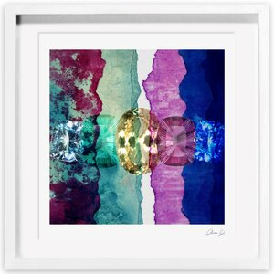 Texture Study I Framed Painting Print by Oliver Gal