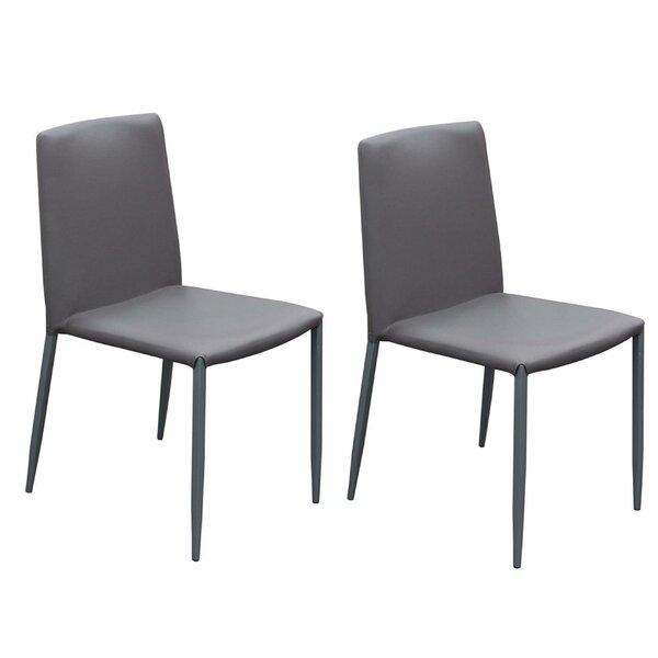 Joseline Upholstered Dining Chair (Set of 2) by Orren Ellis