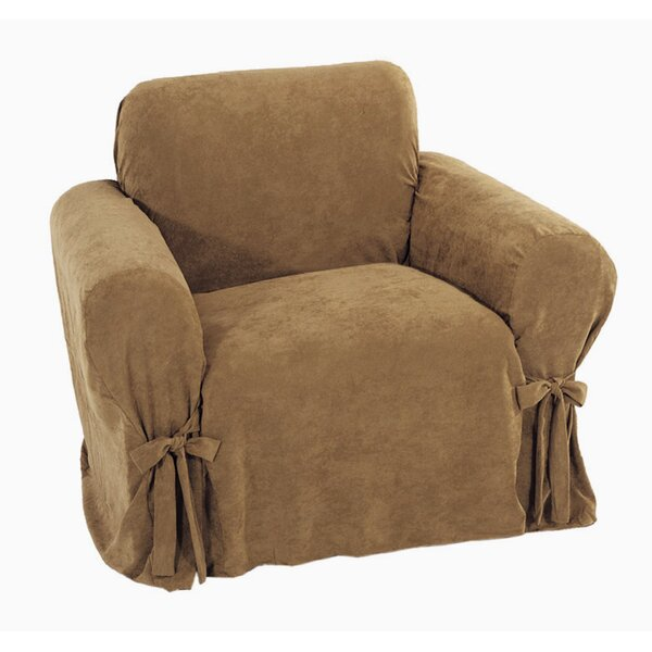 Chic Box Cushion Armchair Slipcover by Classic Slipcovers