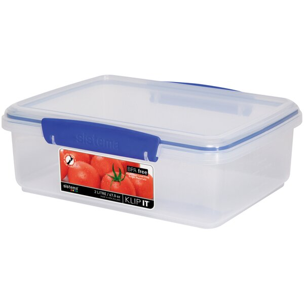 Klip It Food Storage Container by Sistema USA