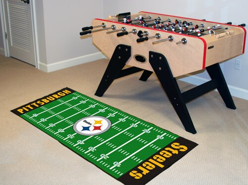 NFL - Pittsburgh Steelers Football Field Runner by FANMATS