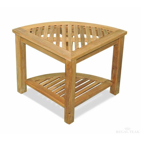 Corner End Table by Regal Teak