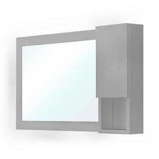 Best Reviews Schaefer Mirror 40.3 x 23.6 Surface Mount Medicine Cabinet ByOrren Ellis