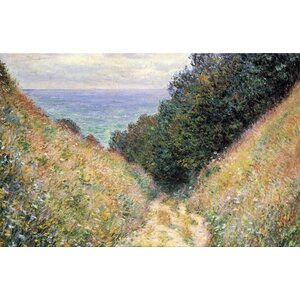 Footpath Framed Painting Print on Canvas by Alcott Hill