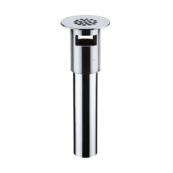 Vessel  1.25 Grid Bathroom Sink Drain With Overflow by Ryvyr