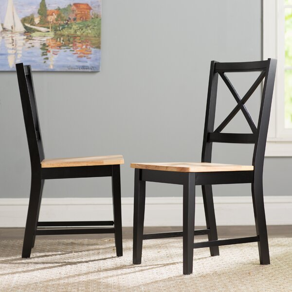 Review Powe Solid Wood Dining Chair (Set Of 2)