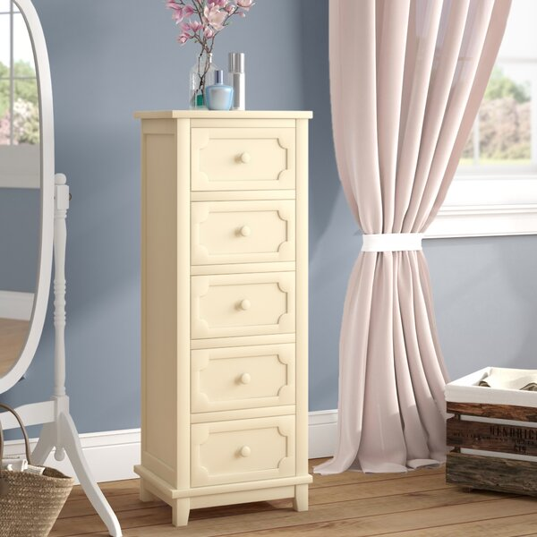 Samos 5 Drawer Lingerie Chest by Charlton Home