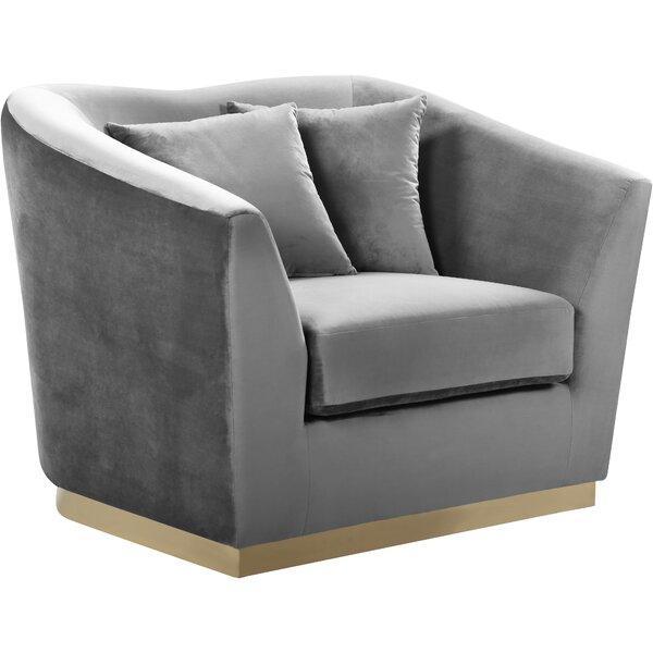 Truchanovicius Barrel Chair by Orren Ellis