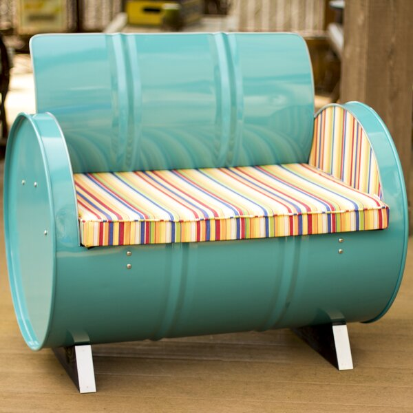 Outer Banks Arm Chair with Cushions by Drum Works Furniture Drum Works Furniture