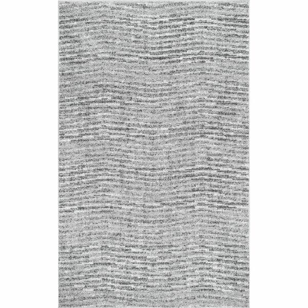 Bismark Gray Area Rug by Wade Logan