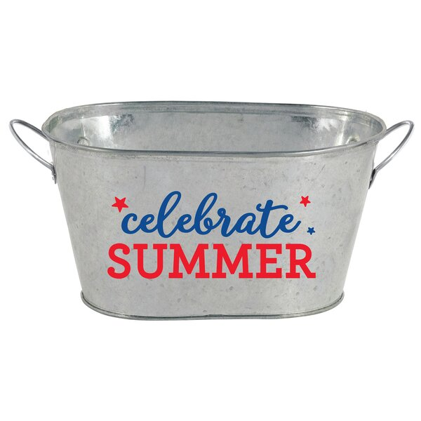 Patriotic Mini Ice Bucket by Amscan