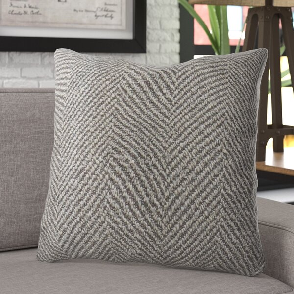 Leedom Luxury Throw Pillow by 17 Stories