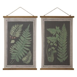 Botanical Scrolls Wall Art  sc 1 st  Wayfair & Vintage Botanical Wall Art | Wayfair