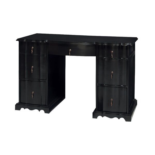 Hargrave Archway Executive Desk by Astoria Grand
