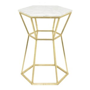 Metal End Table by Three Hands Co.