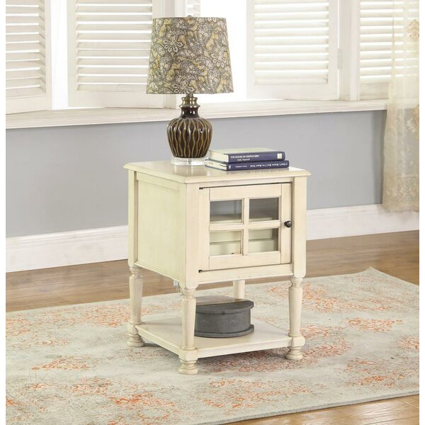 Shenandoah End Table With Storage By Highland Dunes