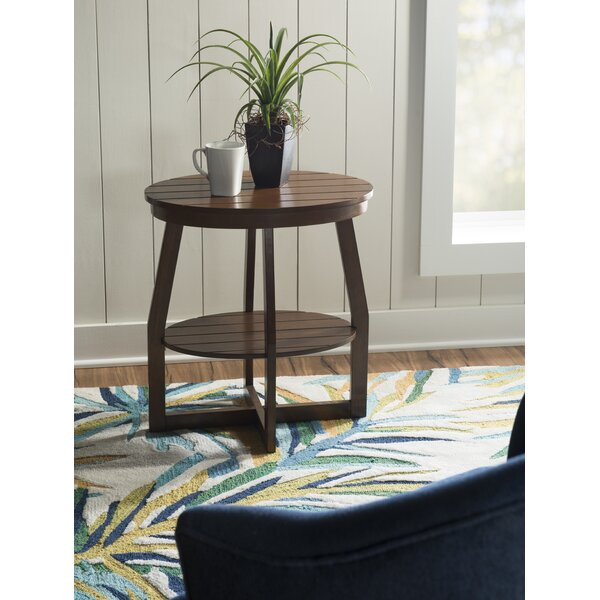 Powell End Table by Rosecliff Heights