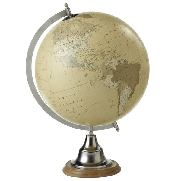 Restrepo 12 Metallic Globe by Darby Home Co